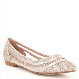Betsey Johnson Annette Pointed Toe Flat 9.5